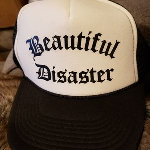 Beautiful Disaster Trucker Hat